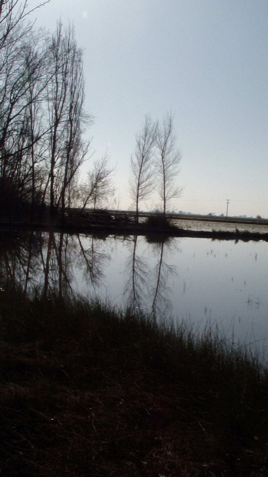 Espejismo en el Delta del Ebro