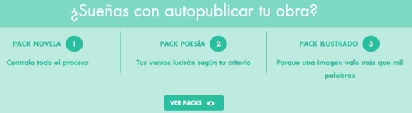 Packs de autopublicación